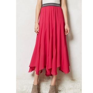 Anthropologie Vanessa Virginia boho skirt